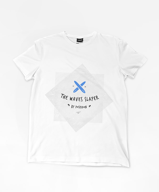 THE WAVES SLAYER SHIRT